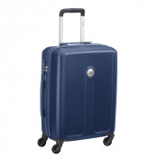 Delsey Planina Slim Cabin Trolley Case 4 Wheel 55 Dark Blue