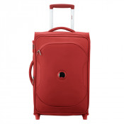 Delsey U-Lite Classic 2 Universal Slim Cabin Trolley Case 2 Wheel 55 Exp. Red