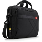"Case Logic DLC115 15"" Laptop Briefcase Black"