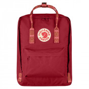FjallRaven Kanken Rugzak Deep Red/Folk Pattern