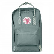 "FjallRaven Kanken Laptop 15"" Rugzak Frost Green/Chess Patern"