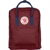FjallRaven Kanken Rugzak Ox Red/Royal Blue