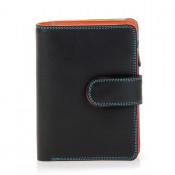 Mywalit Medium Snap Wallet Portemonnee Black/ Pace