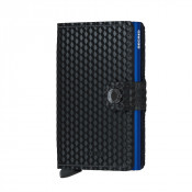 Secrid Mini Wallet Portemonnee Cubic Black Blue