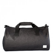 Spiral Duffel Bags Glitter Black