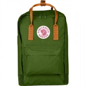 "FjallRaven Kanken Laptop 15"" Rugzak Leaf Green/Burnt Orange"