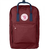 "FjallRaven Kanken Laptop 17"" Rugzak Ox Red/Royal Blue"