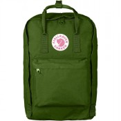 "FjallRaven Kanken Laptop 17"" Rugzak Leaf Green"