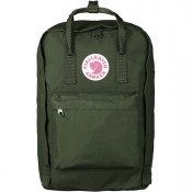 "FjallRaven Kanken Laptop 17"" Rugzak Forest Green"