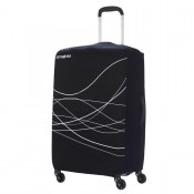Samsonite Travel Accessoires Opvouwbare Kofferhoes L Black