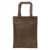 Myomy My Paper Bag Long Handle Zip Anaconda Taupe