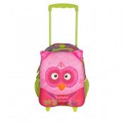 Okiedog Wildpack Junior Trolley Medium Owl