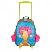 Okiedog Wildpack Junior Trolley Medium Parrot