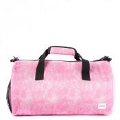 Spiral Duffel Bags Pink Shimmer