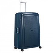 Samsonite S'Cure Spinner 81 Navy Blue/Capri Blue