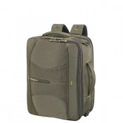 Samsonite 4Mation 3-Way Shoulder Bag Expandable Olive/Yellow
