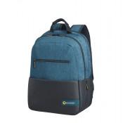 "American Tourister City Drift Laptop Backpack 15.6"" Black/Blue"