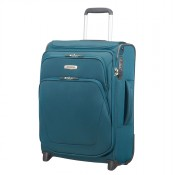 Samsonite Spark SNG Upright 55 Expandable Toppocket Petrol Blue