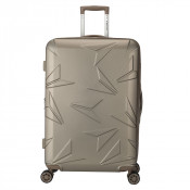 Decent Q-Luxx Trolley 77 Expandable Champagne