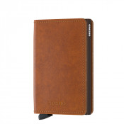 Secrid Slim Wallet Portemonnee Original Cognac Brown
