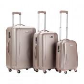 CarryOn Skyhopper 3-Delige Kofferset Champagne