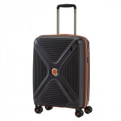 Titan Paradoxx 4 Wheel Cabin Trolley S Black