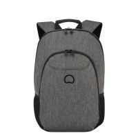 """Delsey Esplanade Laptop Backpack 13.3"""" Anthracite"""