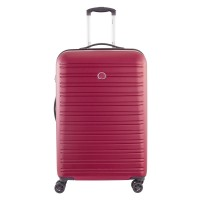 Delsey Segur Trolley Case 4 Wheel 70 Red