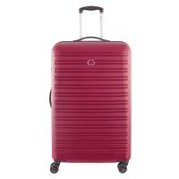 Delsey Segur Trolley Case 4 Wheel 78 Red
