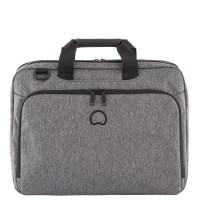 """Delsey Esplanade Laptop Bag 2-CPT 15.6"""" Anthracite"""