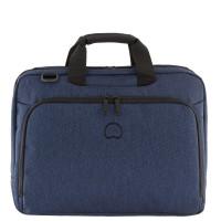 """Delsey Esplanade Laptop Bag 2-CPT 15.6"""" Navy"""
