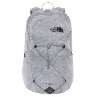 The North Face Rodey Rugtas Mid Grey Dark Heather/TNF Black