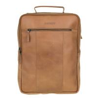 "DSTRCT Riverside Laptop Backpack 15.6"" Cognac 011430"