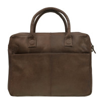 DSTRCT Fletcher Street Business Laptoptas 15.6'' Brown 016320