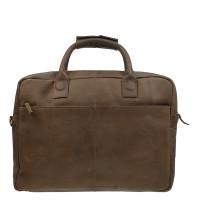 DSTRCT Fletcher Street Business Laptoptas 17'' Brown 016420