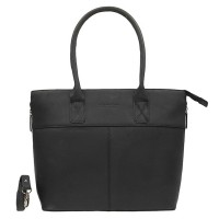 DSTRCT Fletcher Street Womens Business Laptoptas 15.6'' Black 016520