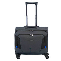 Travelite @Work Business Wheeler Laptop Trolley Anthracite Melange