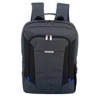 Travelite @Work Business Backpack Slim Grey Melange