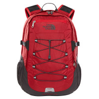 The North Face Borealis Classic Rugtas Rage Red Ripstop/Asphalt Grey
