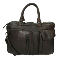 DSTRCT Pearl Street Business Laptoptas 15.6' Brown 26220