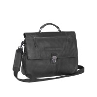 "Chesterfield George Business Bag Aktetas 14"" Black"