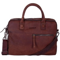 DSTRCT Wall Street Business Laptoptas 15.4'' Double Brown