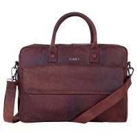 DSTRCT Wall Street Business Laptoptas 17'' Brown 76420