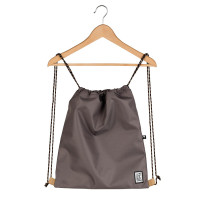 The Pack Society The Gymsack Rugzak Solid Charcoal