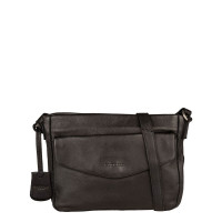 Burkely Just Jackie Crossover L Flap Black