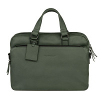"Burkely Rain Riley Laptopbag 14"" Dark Green"