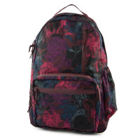Converse Go Backpack Floral Burgundy