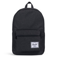 Herschel Pop Quiz Rugzak Black Crosshatch/Black Rubber