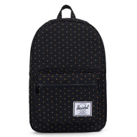 Herschel Pop Quiz Rugzak Black Gridlock Gold
