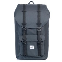 Herschel Little America Rugzak Dark Shadow/ Black Synthetic Leather